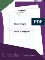 Unidad 1. Integrales
