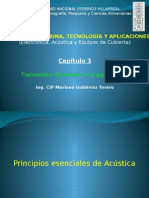 Capitulo 3 Transmision Sonido Curso Acustica Submarina UNFV MGT 2014