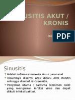 Sinusitis Akut dan kronis