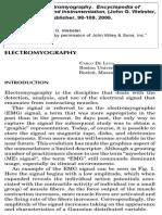 Electromyography Medical Encyclopedia