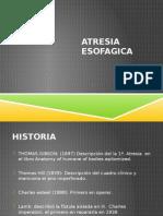 Atresia Es of a Gica