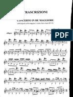 A. Vivaldi - 7 conciertos (para guitarra sola)