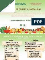 Envasado de Atmósferas Modificada de Frutas y Hortalizas