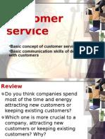 7 Unit 10 Customer Service