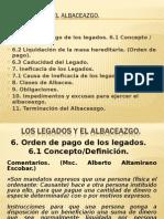 Los Legados y El Albaceazgo Final