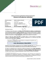 Informe de Evaluacion Individual Portafolio