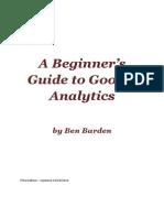 Ben Barden - A Beginners Guide to Google Analytics