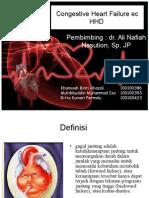 Congestive Heart Failure Ec HHD