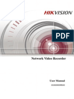 2015 June manual instruction for Hikvision NVR network set up