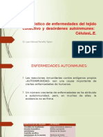Diagnóstico de Enfermedades Del Tejido Conectivo y Desórdenes