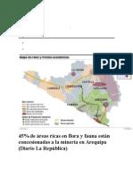 Consecion de Arequipa Contra La Biodiversidad