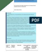 Evaluación de La Promoción Del Trabajo Colaborativo en El Consejo Técnico Escolar y Consejo de Participación Social en La Educación
