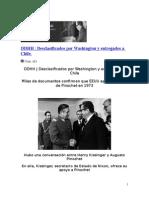 DDHH pisoteados por Pinochet