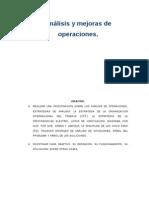 Estudios de Métodos.