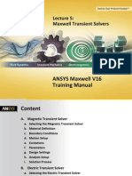 Maxwell v16 L05 Transient Solvers