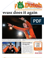 The Daily Dutch International #12 from Vancouver | 02/22/10