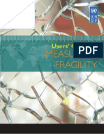 Users' Guide on Measuring Fragility
