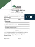 Prudential Life GuaranteePrudential Life Guarantee Medical Claim Form