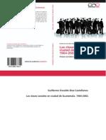 Niveles y Porcentaje clase Social Guate