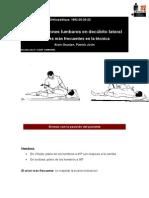8-Manipulaciones Lumbares en Decubito Lateral. Errores Mas Frecuentes