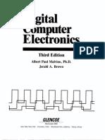 Digital Computer Electronics - Albert Paul Malvino and