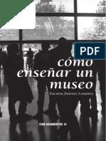 Como Enseñar un  Museo