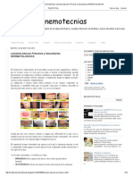 Lesiones Básicas Primarias y Secundarias DERMATOLOGICAS
