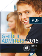 Ghid Admitere UMF Cluj 2015