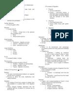 Notes Metabolism