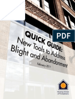 QuickGuide NewToolsToAdressBlight&Abandonment