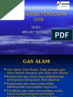 Signifikansi Pengujian Gas
