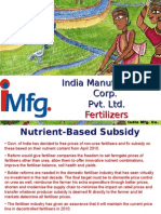 IMFG Fertilizer India