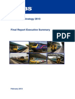 Sewta Rail Strategy Executive Summary February 2013