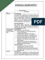 Planilla de Sistematización JORNADA