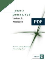 LECTURA 3 Mediación