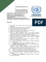 UNSOM Trains Journalists in Kismayo