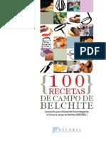 100 Recetas de Campo de Belchite