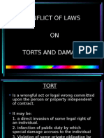 Report on Conflict of Laws