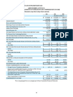 A and F - Financial Statements