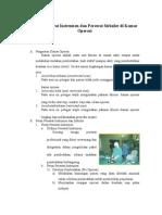 Peran Perawat Instrumen Dan Perawat Sirkuler Di Kamar Operasi