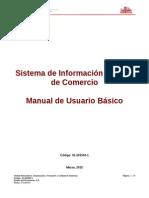 Sistema de Información Integral de Comercio Manual de Usuario Básico