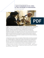 La Visita Del Papa Francisco a Bolivia, Julio 2015