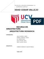 Informe Arquitectura Romanica