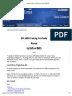 Life Skills Training in Schools