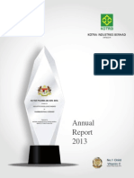 2013_annual_report of Kotra Pharma