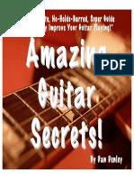 Amazing Guitar Secrets Book