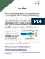 Iot Healthcare Policy Principles Paper
