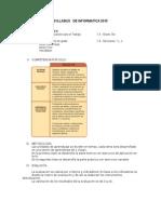 Modelo de Syllabus  EPT 2015