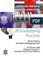 20 Goalkeeping Practices Booklet