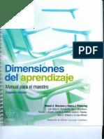 Dimensiones del aprendizaje.  Marzano.pdf
